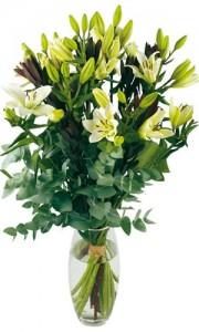 livraison fleurs blanches mariage